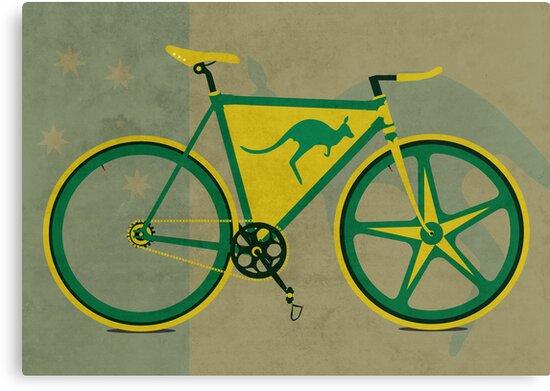Australia Bike by Andy Scullion