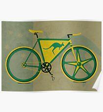 Australia Bike Poster