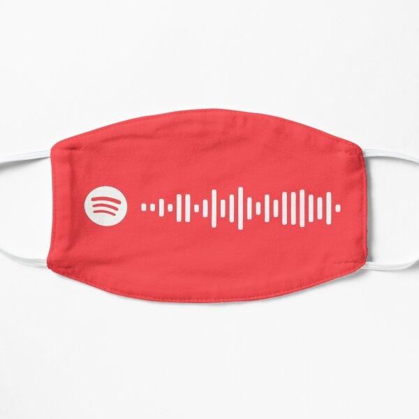 Código de Vivaldi Spotify - Retrato de una dama en llamas Mascarilla plana