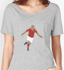 Arjen Robben Minimalist Design Champions League Winner Women's Relaxed Fit T-Shirt