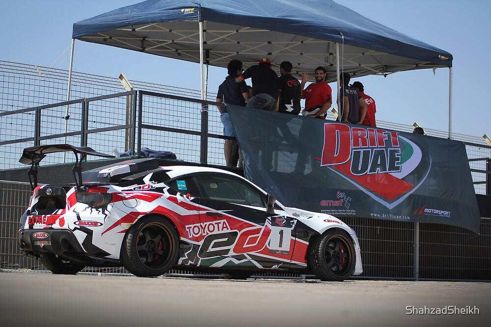 Toyota Emirates Drift Team 1 by Shahzad Sheikh