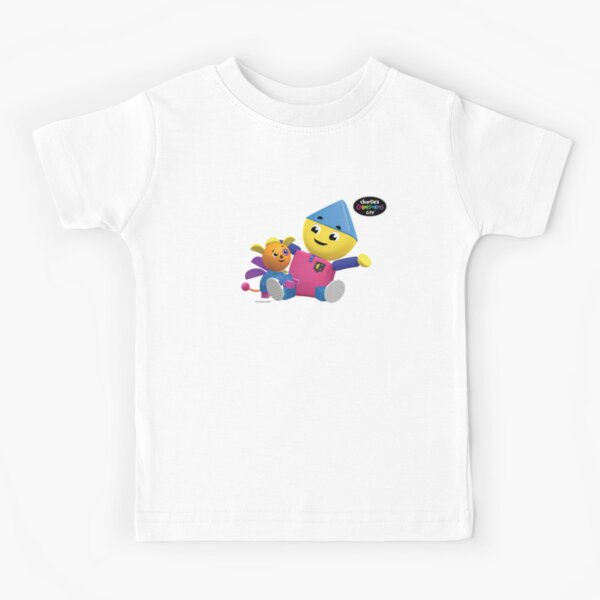 Charlie's Colorforms City - Charlie and Klunk Kids T-Shirt
