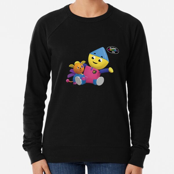 Charlie's Colorforms City - Charlie and Klunk Lightweight Sweatshirt