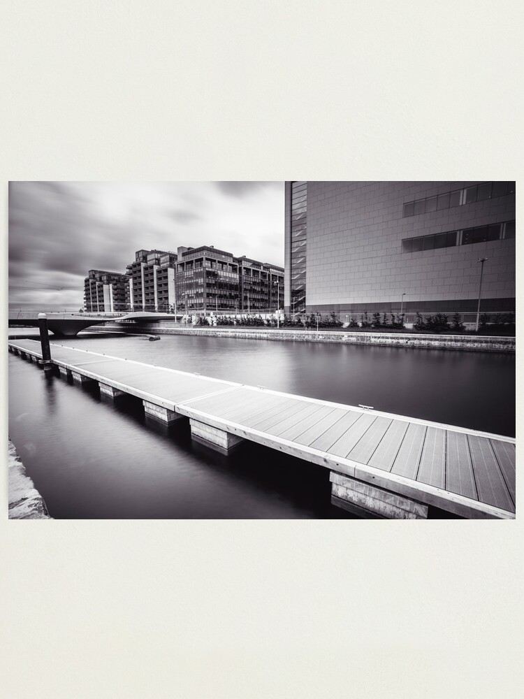 Alternate view of George's Dock, Dublin Docklands Photographic Print