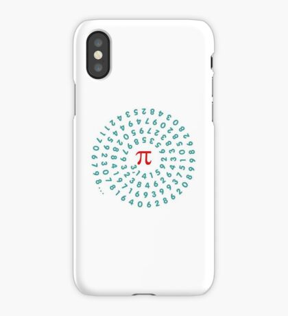 Circumference Pi VRS2 iPhone Case