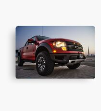Ford Raptor 1 Canvas Print