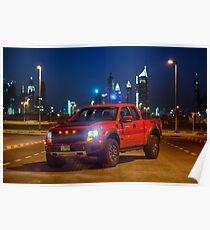 Ford Raptor 2 Poster