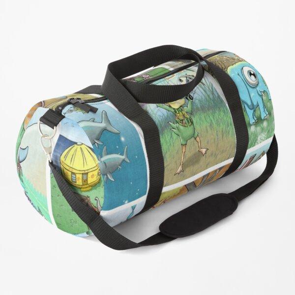 Crazy Creatures Puzzle Duffle Bag