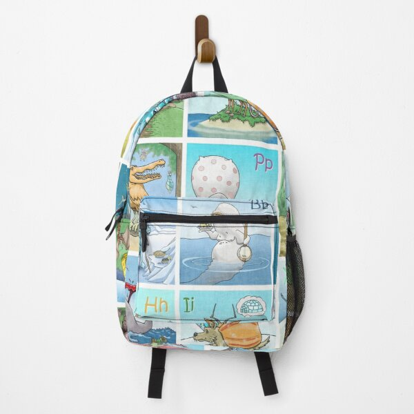 Crazy Creatures Puzzle Backpack
