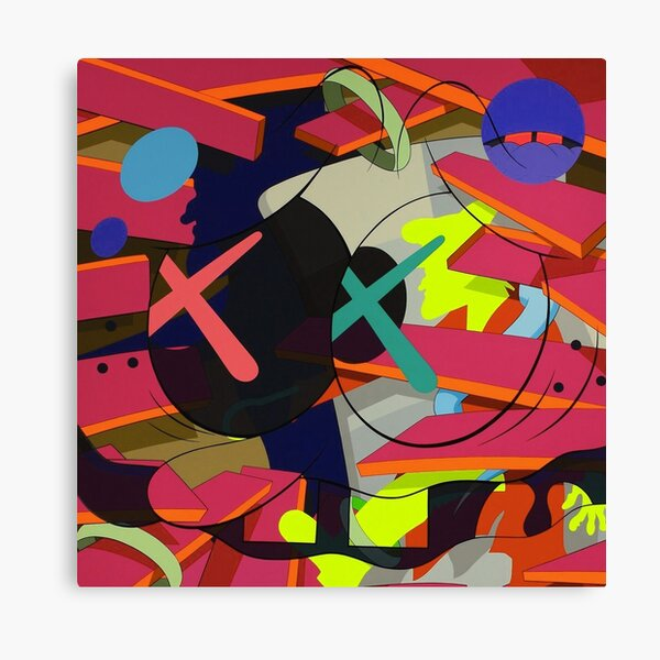 Much Color Makes Me Confused Canvas Print