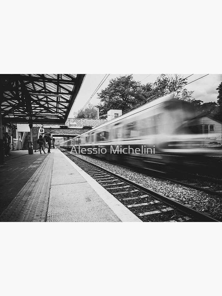 Malahide train station by darkmavis