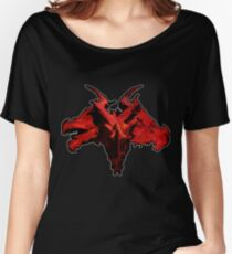 Three-Headed Dragon, Red Women's Relaxed Fit T-Shirt