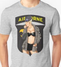 Screaming Eagles pinup Unisex T-Shirt