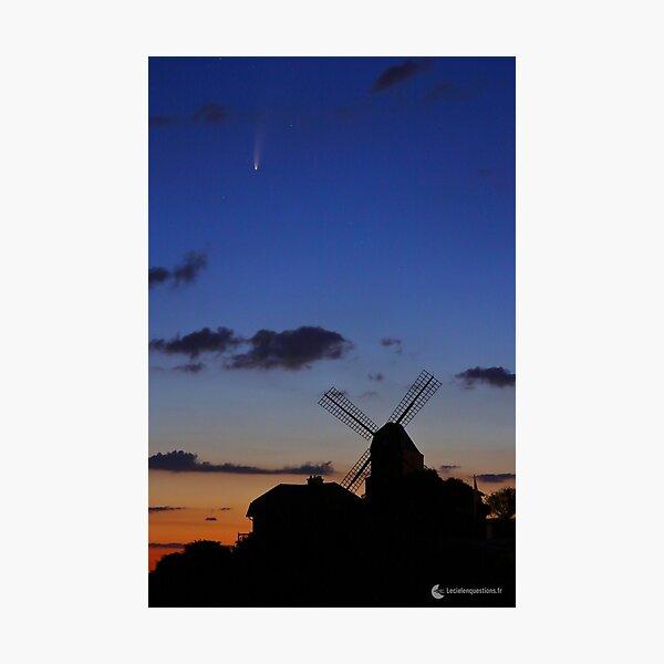 Comete Neowise Impression photo