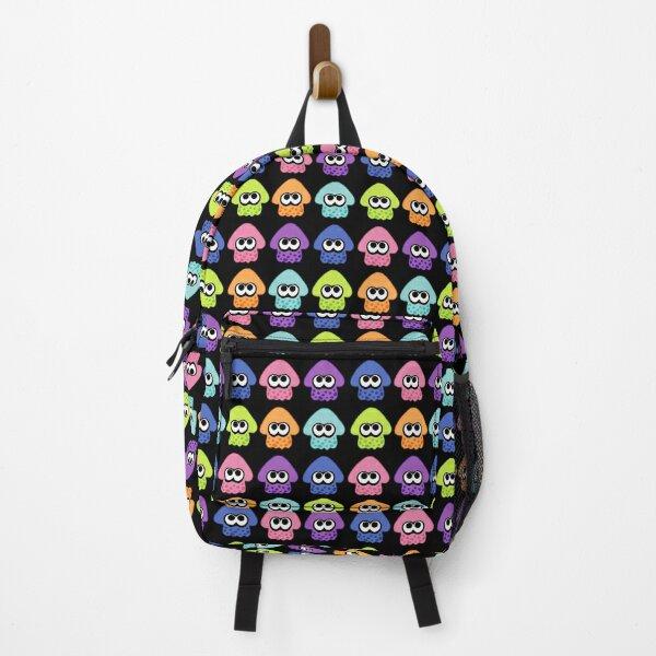 Splatoon 2 Squid Pattern Colours Backpack