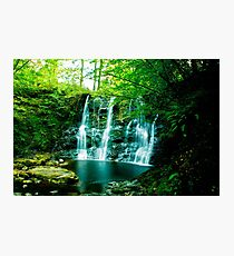 waterfall in the glens of antrim Photographic Print