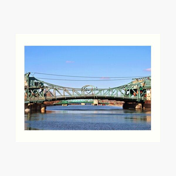 Three Bridges Art Print