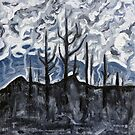 Charred Landscape by Morgan Ralston