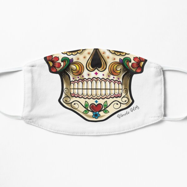 candy skull Tattoo style image Mask
