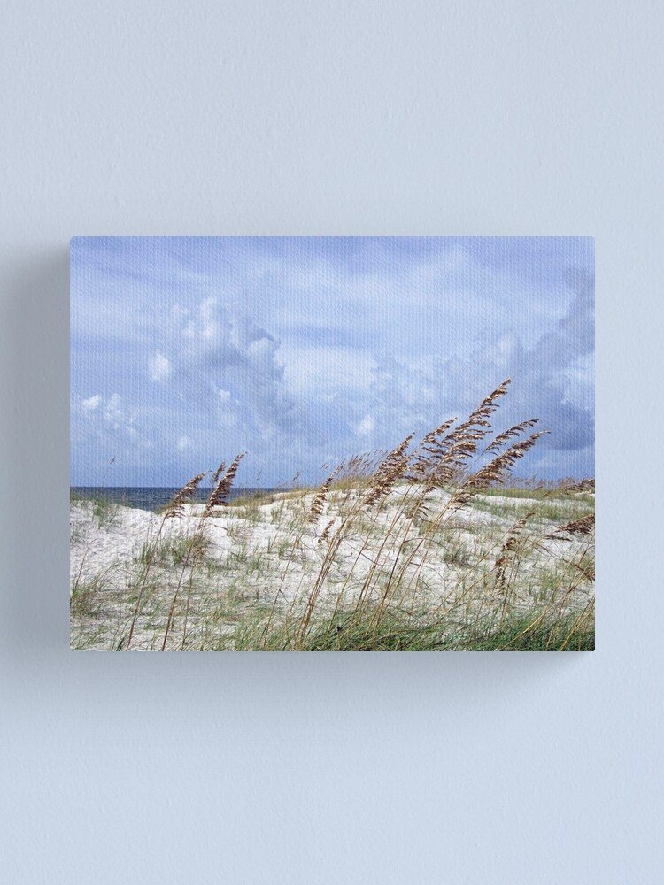 Alternate view of Crossing the Last Dune Canvas Print