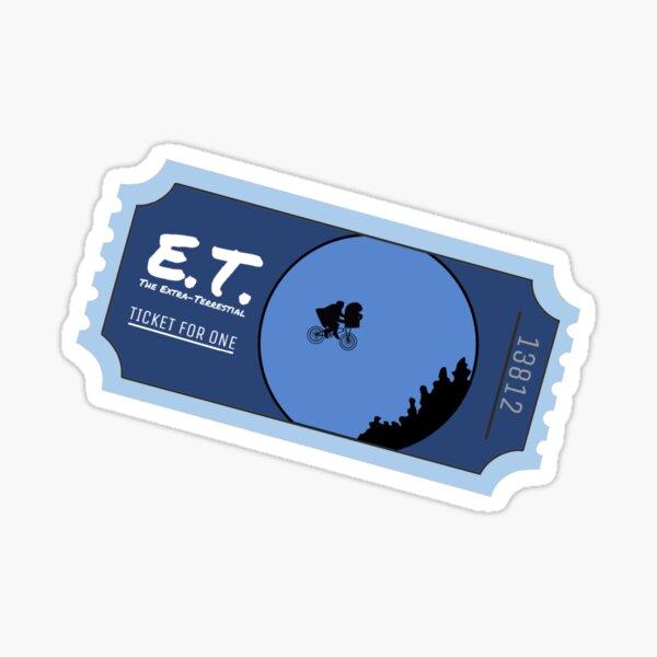 E.T. The Extra-Terrestrial Sticker Sticker