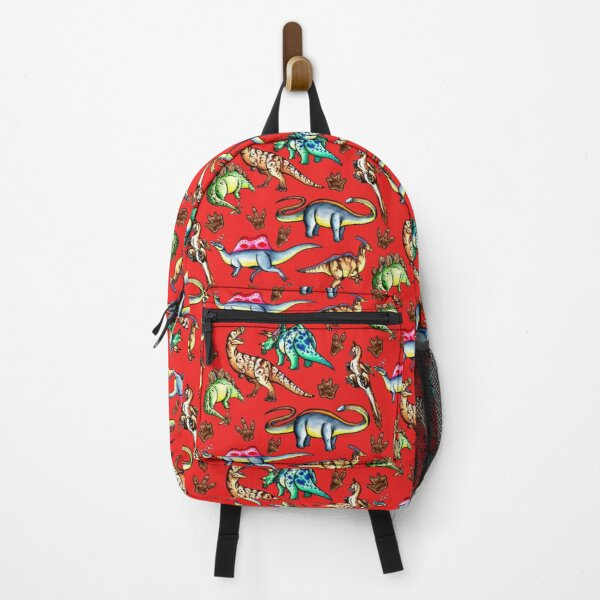 Dinosaurs! Red Backpack