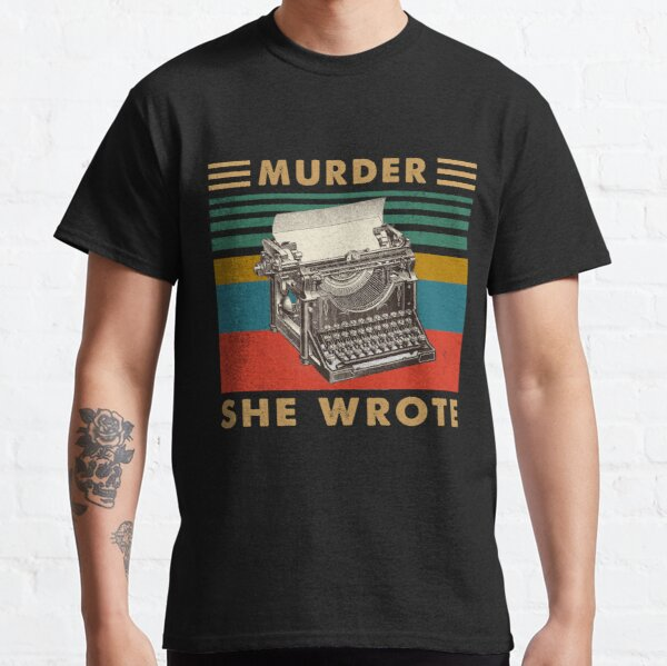 Vintage Men Women Jessica Fletcher's Gifts She Wrote Classic T-Shirt