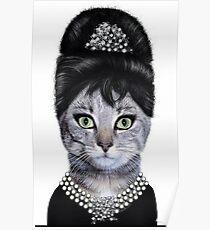 Cat Princess Poster
