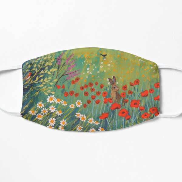 The House by Summer Meadow Flat Mask