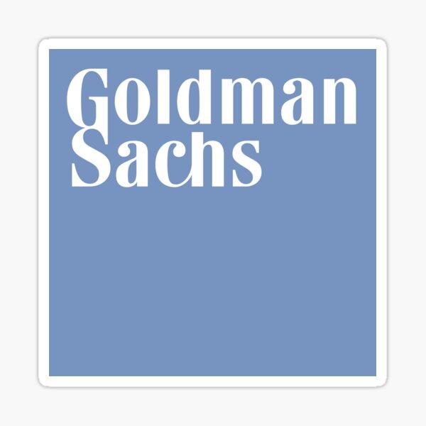 Goldman Sachs logo Sticker