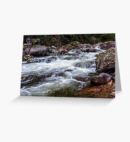 Trickle to a Torrent Greeting Card