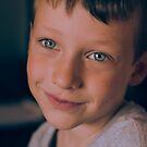 Child Portrait - Coy by Patrick Metzdorf