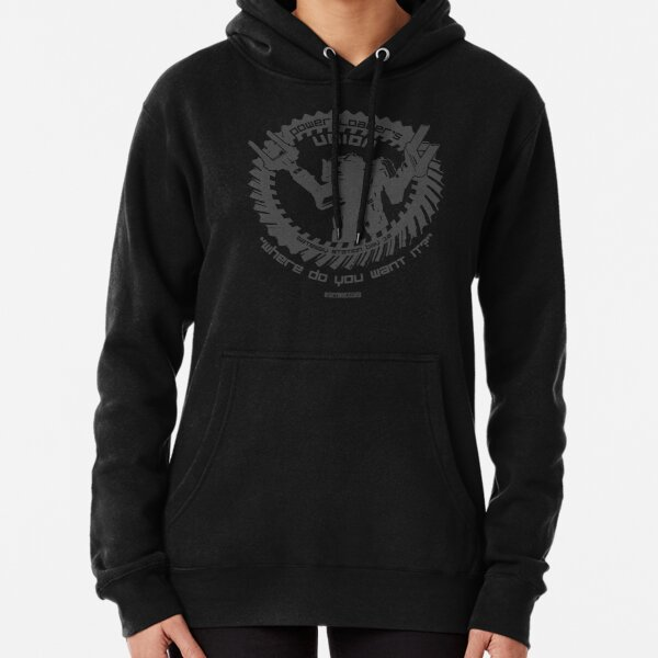 Power Loader's Union Grey Pullover Hoodie