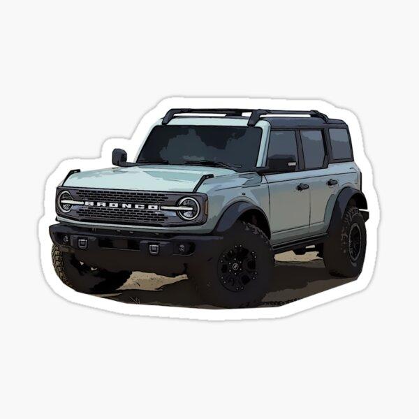 2021 Ford Bronco Area 51  Sticker
