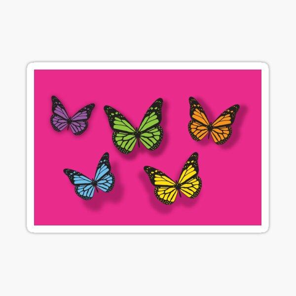 Butterfly enlightenment Sticker