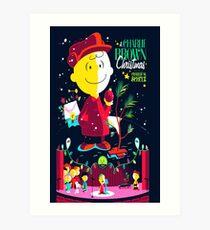 Charlie Christmas Art Print