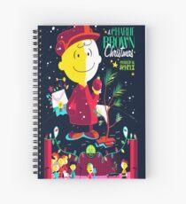 Charlie Christmas Spiral Notebook