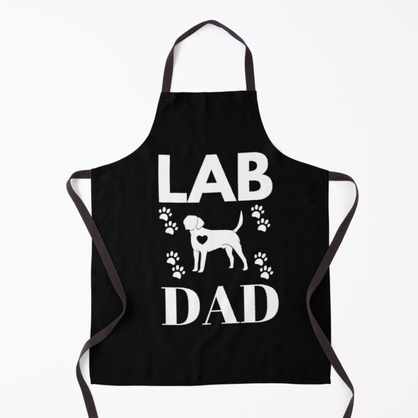 Lab Dad - Vector Labrador Retriever Apron