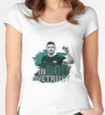 "Brian O'Driscoll | ""In BOD we trust."" Women's Fitted Scoop T-Shirt"