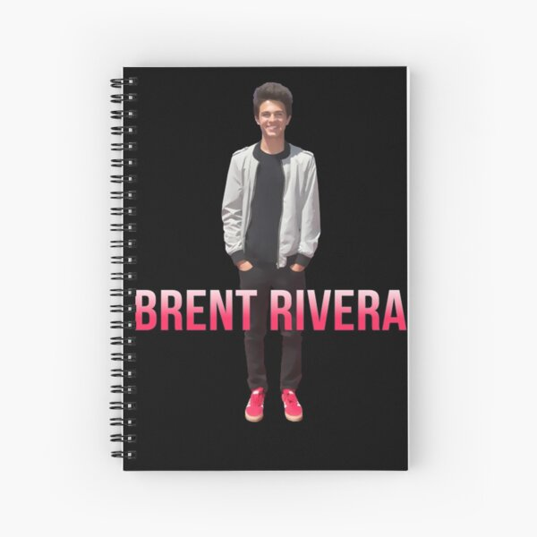 Brent Rivera Brent Rivera - Spiral Notebook