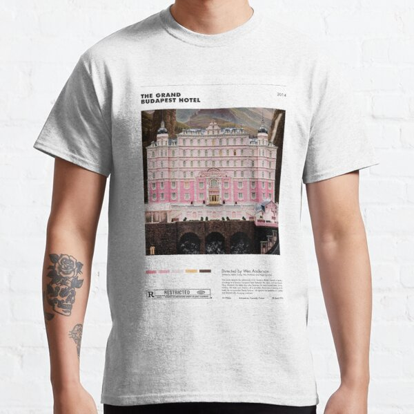 The Grand Budapest Hotel - Cartel minimalista Camiseta clásica
