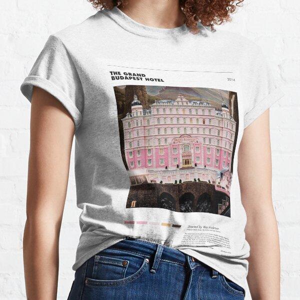 The Grand Budapest Hotel - Minimalist Poster Classic T-Shirt