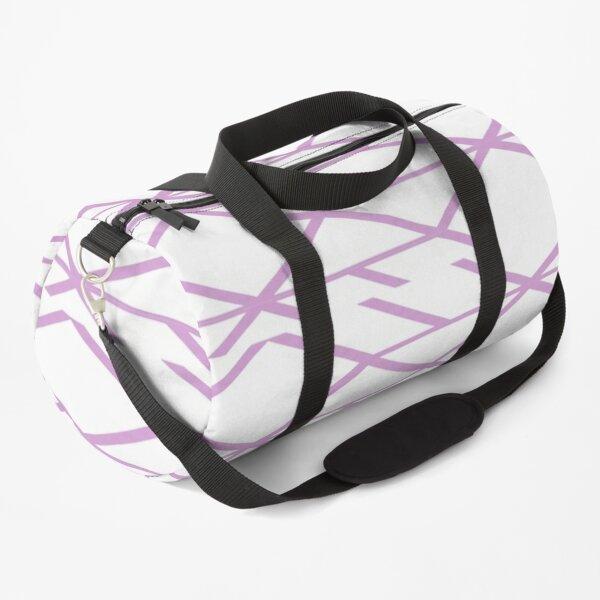 Minimal geometric pattern Duffle Bag