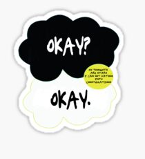 The fault in our stars. Sticker