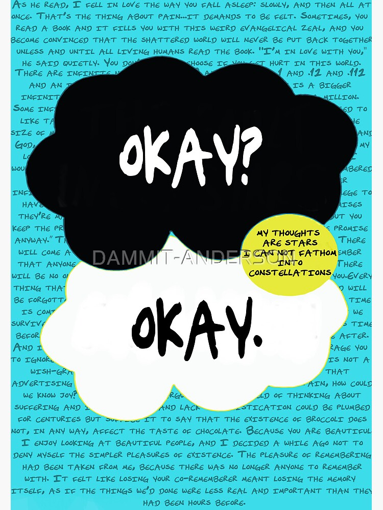 The fault in our stars. by DAMMIT-ANDERSON