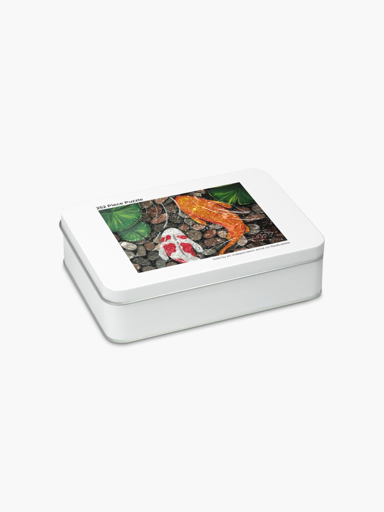 Alternate view of The Koi Pond Jigsaw Puzzle