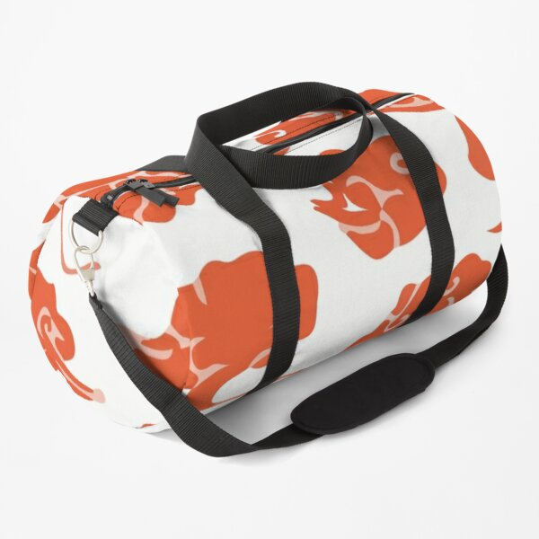 Floral red Duffle Bag