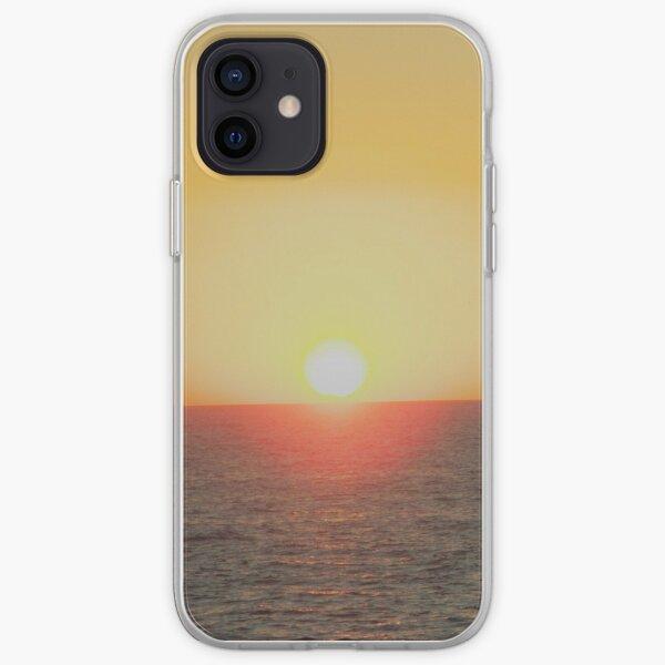 Sunset off Harvey Bay iPhone Soft Case