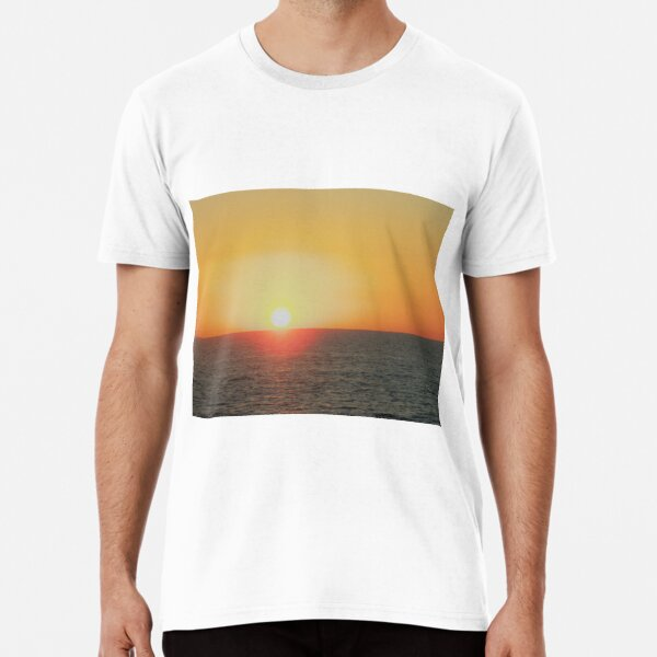 Sunset off Harvey Bay Premium T-Shirt