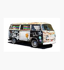 Hippie Van Photographic Print